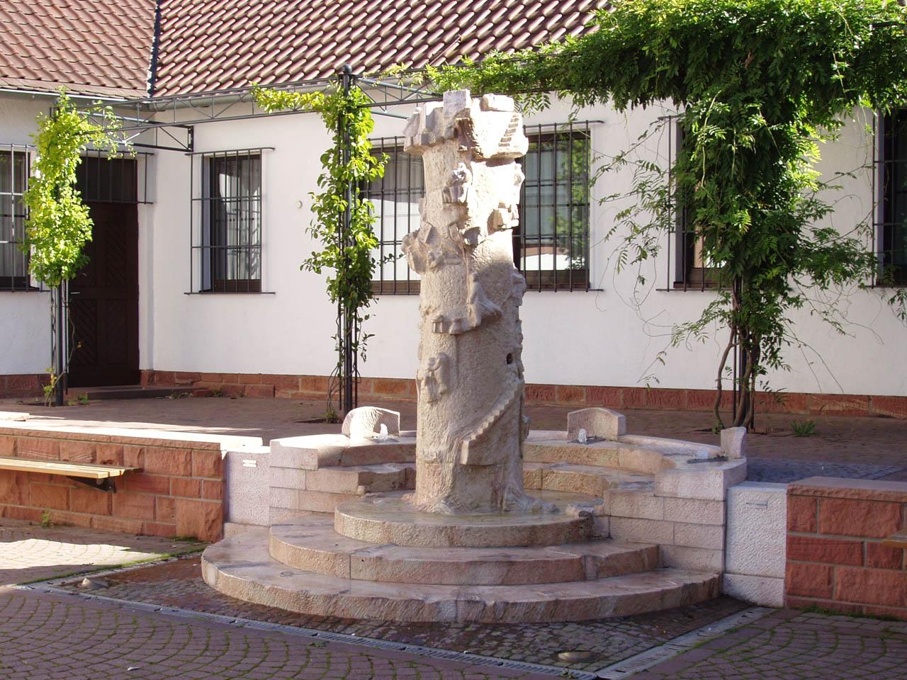 Brunnen Kirchplatz Sulzbach